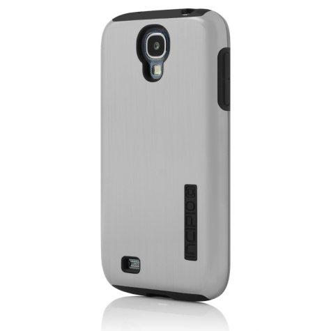 Incipio Dual Pro Shine Case for Samsung Galaxy GS4 - Silver/Black