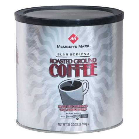 Member's Mark Sunrise Blend Roasted Ground Coffee (32 oz.)