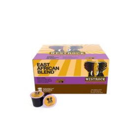 Westrock Coffee East Africa Blend Single Serve Pods (80 ct.)