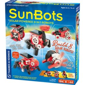 Thames & Kosmos SunBots: 8-in-1 Solar Robot Kit