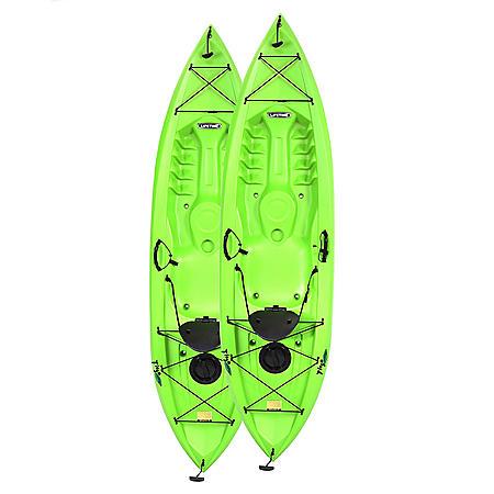 "Lifetime Tioga 120"" Kayak, 2 Pack"