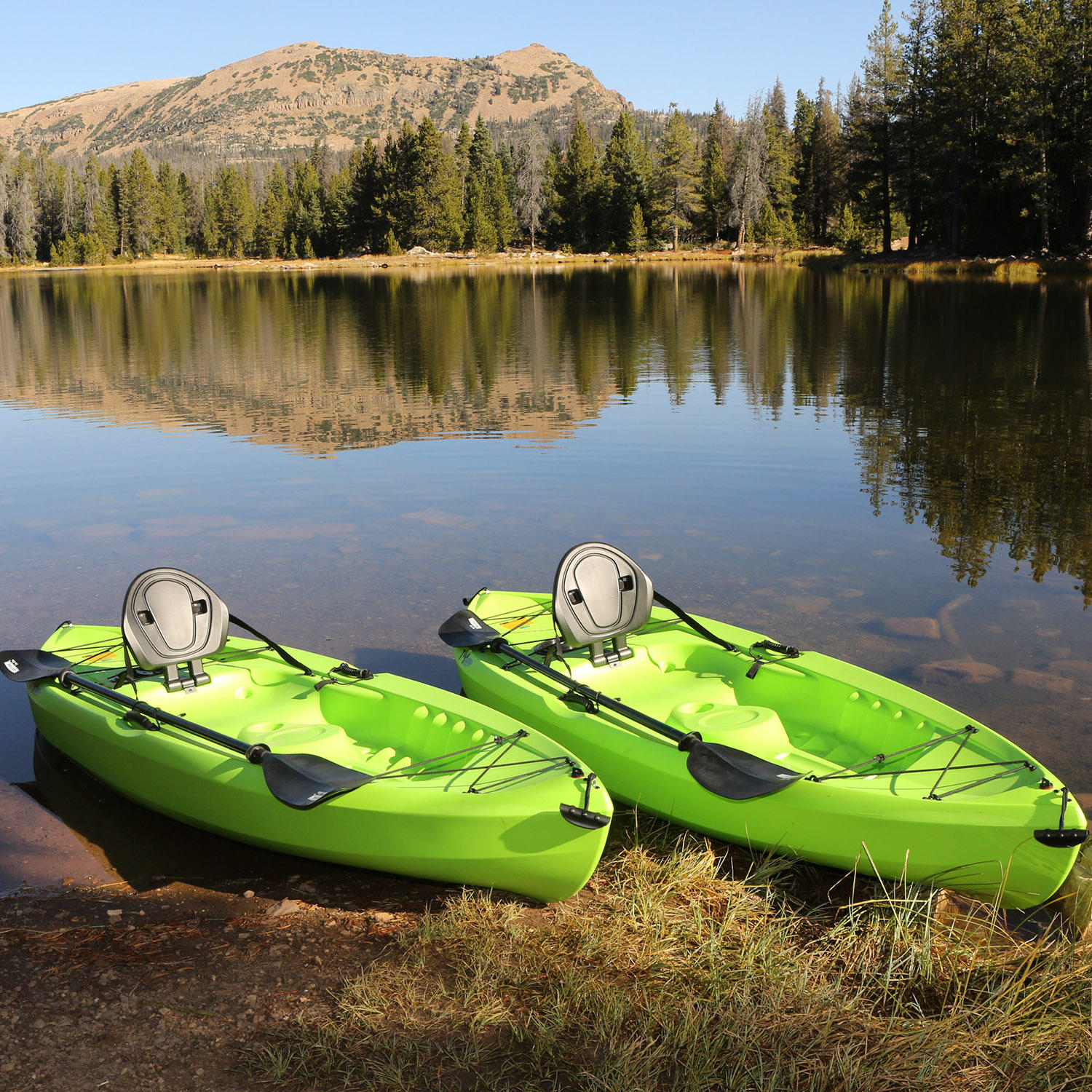 "2-Pack Lifetime Tioga 120"" Kayak with Paddle"