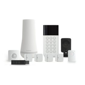 SimpliSafe 10 Piece DIY Home Security Kit with SimpliCam
