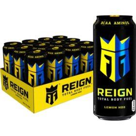 Reign Lemon HDZ (16oz / 12pk)