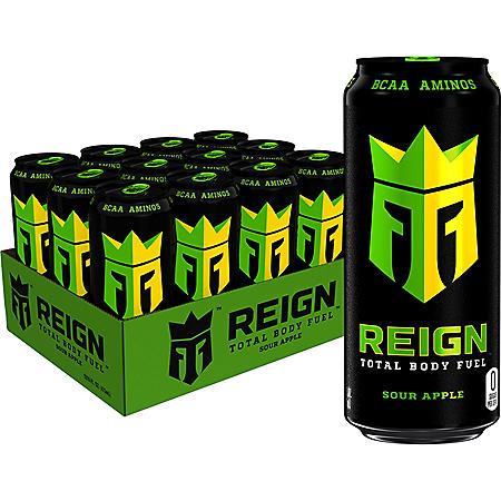 Reign Sour Apple (16oz / 12pk)