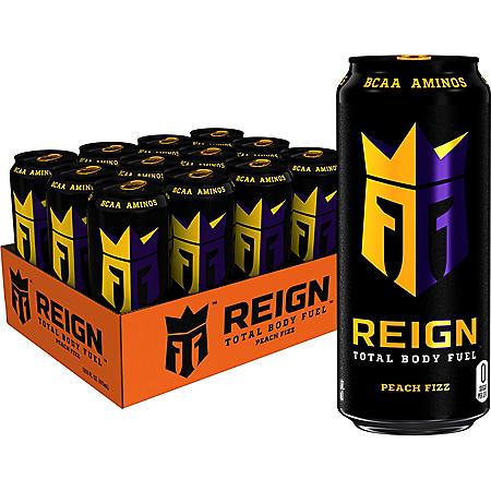 Reign Peach Fizz (16oz / 12pk)