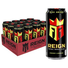 Reign Total Body Fuel Cherry Limeade (16 fl. oz., 12 pk.)
