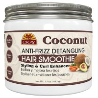 Okay Coconut Anti-Frizz Detangling Hair Smoothie Mask (17 fl. oz.)