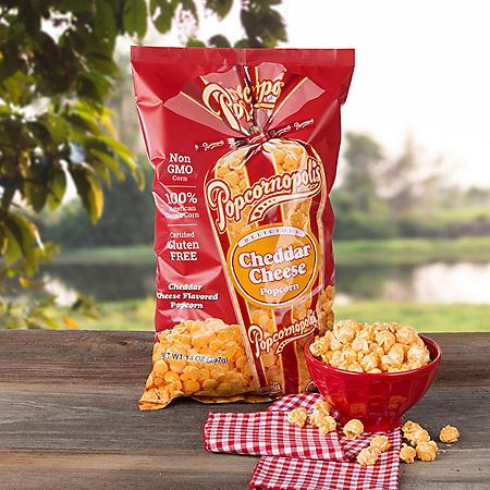 Popcornopolis Cheddar Cheese Popcorn (14oz)