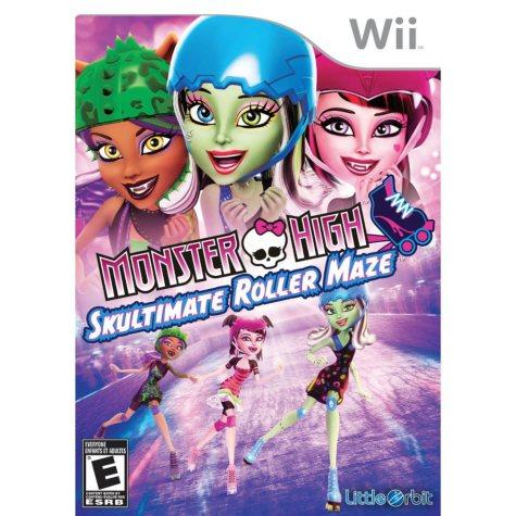 Monster High Skultimate Roller Maze - Wii