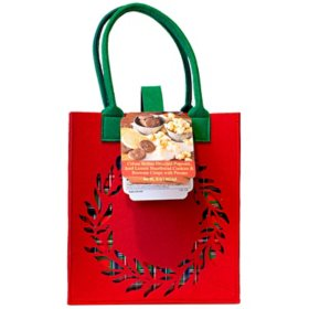 SCM Designs Festive Totes filled with Treats
