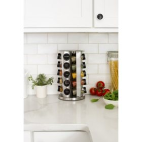 Orii Rotating 20-Jar Spice Rack