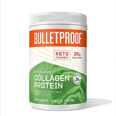 Bulletproof Collagen Protein, Unflavored (24 oz.)
