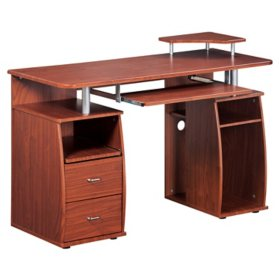 Techni Mobili Complete Computer Workstation Desk With Storage, Assorted Colors