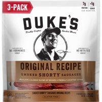 Duke's Original Recipe Smoked Shorty Sausages (5oz / 3pk)