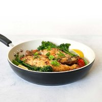 """12"""" Stone Earth Frying Pan by Ozeri, 100% APEO & PFOA-Free (Assorted Colors)"""