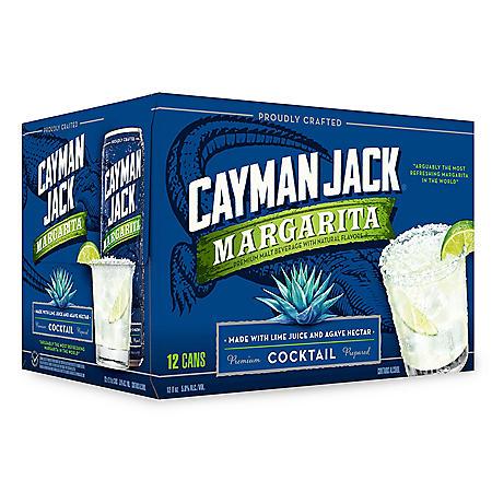 Cayman Jack Margarita (12 fl. oz. can, 12 pk.)