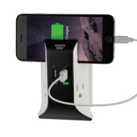 Sharper Image 10000mah Battery Pack With Lcd Display Sams Club