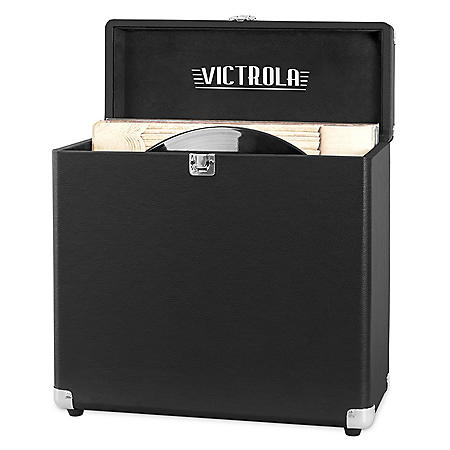 Victrola Storage Case for Vinyl Turntable Records - Various Colors