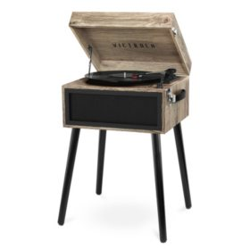 Victrola Bluetooth Record Player with 3 Speed Turntable (Various Colors)