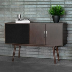 Victrola Woodland: Bluetooth Speaker Credenza