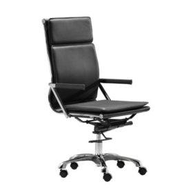Serene Ergonomic High-Back Office Chair, Black