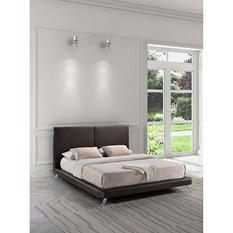 Mirabel Espresso Bed (Choose Size)