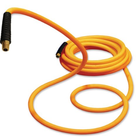 """Primefit Hybrid Polymer Air Hose with Field Repairable Ends - 1/4"""" by 100-Ft (300-PSI)"""