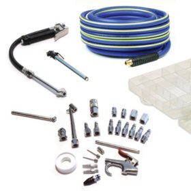 Primefit Ultimate Air Compressor Inflation Kit for Home Garage