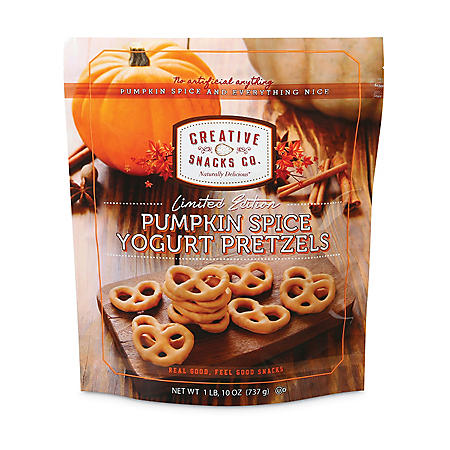Pumpkin Spice Yogurt Pretzels (26oz.)