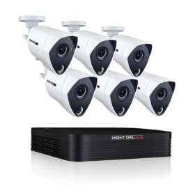 Night Owl 8-Channel 3MP Extreme HD Video Security DVR with 1 TB HDD and 6 x 3MP Wired Infrared Cameras