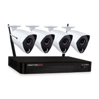 Deals on Night Owl 4 Channel Wired DVR w/UHD 4K Cameras and 1TB Hard Drive