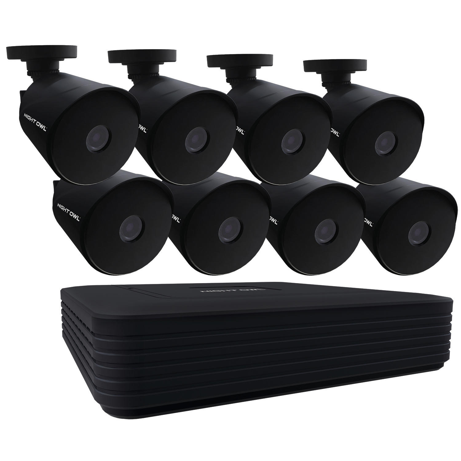 Night Owl 8 Channel Wired DVR with (8) Wired Cameras and 1TB Hard Drive