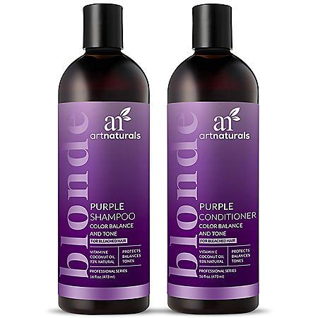 Artnaturals Purple Shampoo & Conditioner Duo