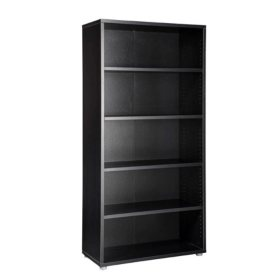 "Tvilum 73"" Tall 5 Shelf Bookcase (Various Colors)"