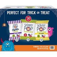 SkinnyPop Popcorn Halloween Variety Snack Pack (36 pk.)