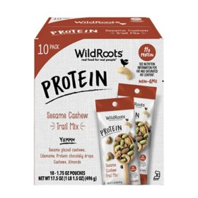 WildRoots Protein Sesame Cashew Trail Mix (10 ct.)