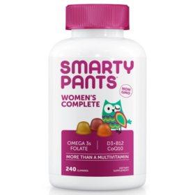 SmartyPants Women Complete Multivitamin (240 ct.)