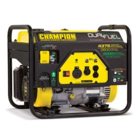Champion Power Equipment 3500W / 4375W Dual-Fuel Generator