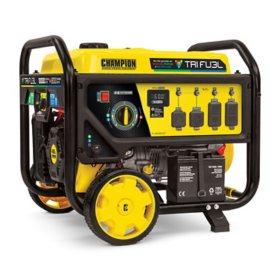 Champion Power Equipment 8000-Watt Tri Fuel Natural Gas Generator with CO Shield