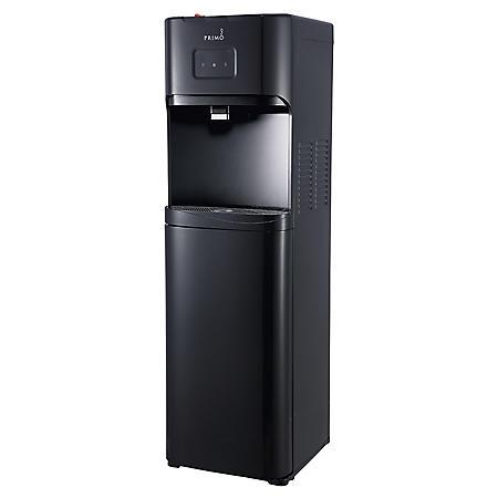 Primo Bottom-Loading Hot/Cold Water Dispenser, Black