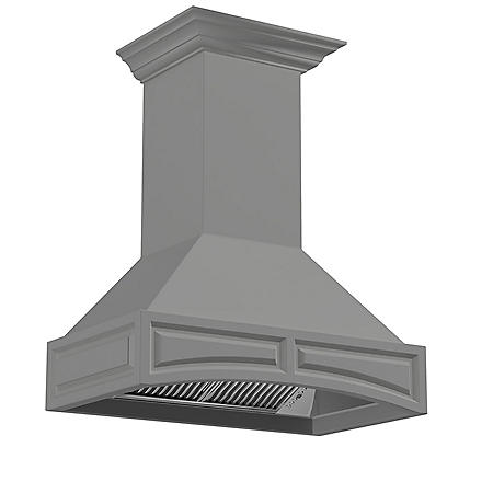 ZLINE 36 in. 1200 CFM Designer Series Wooden Wall-Mount Range Hood