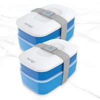 Bentgo Classic All-In-One Bento Lunch Box, 2-Pack (Assorted Colors)