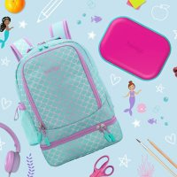 Bentgo 2-In-1 Backpack & Lunch Bag and Bentgo Kids Chill Lunch Box (Assorted Colors)