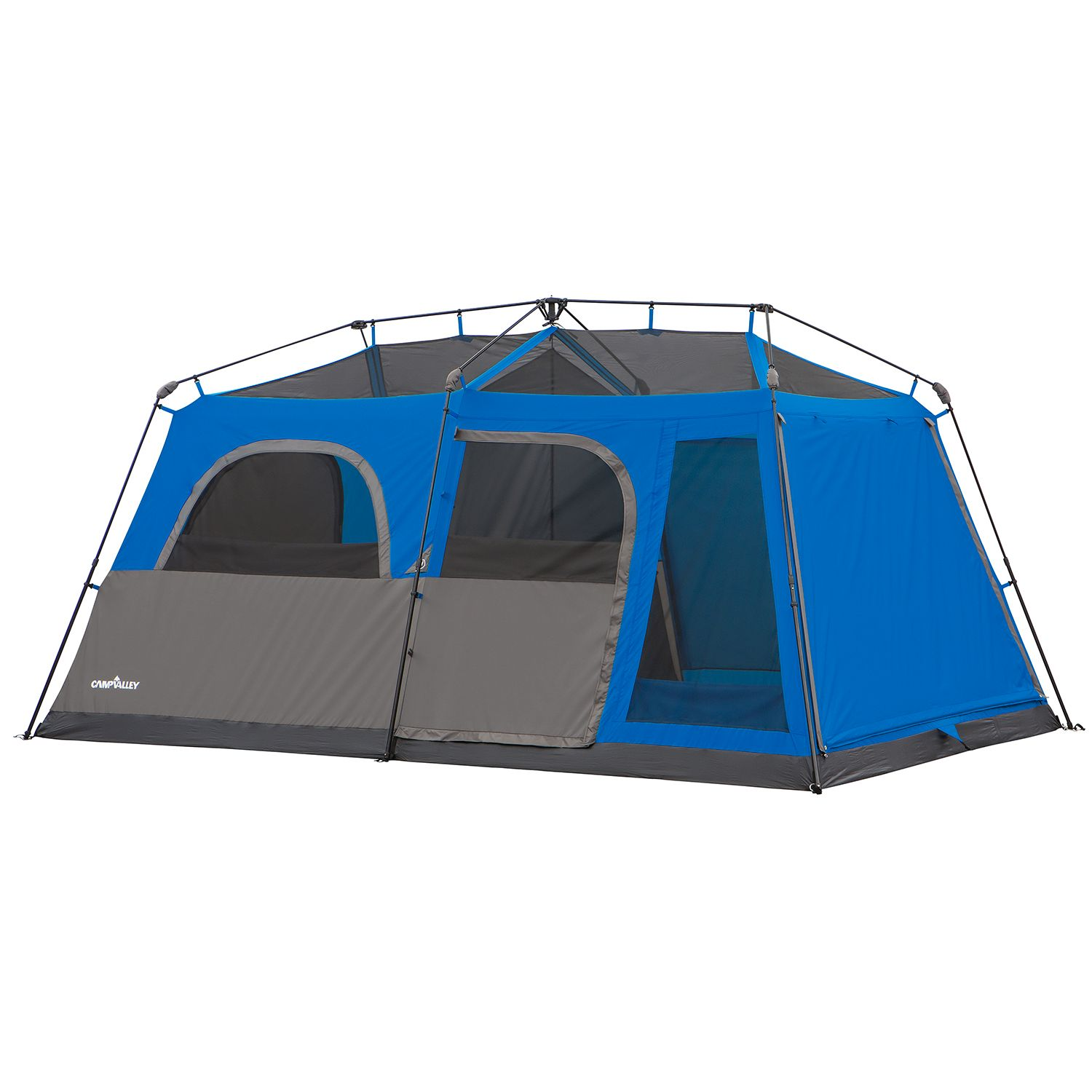 campvalley 9 person instant cabin tent 14 quot l x 9 w x 6 6 88883