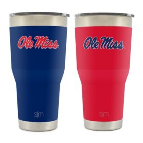 NCAA 30oz Tumbler 2 pk. - Choose Your School