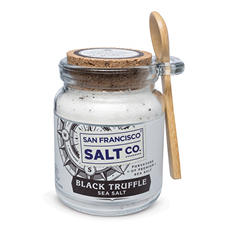 Black Truffle Sea Salt Chef Jar