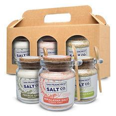 Gourmet Sea Salt Chef Jars Gift Set
