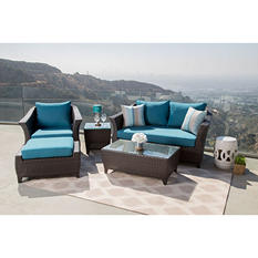 Ibiza 5-Piece Outdoor Wicker Set