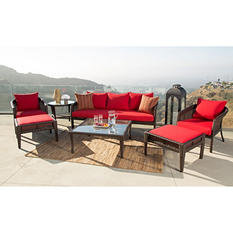 Hampton 7-Piece Outdoor Wicker Set